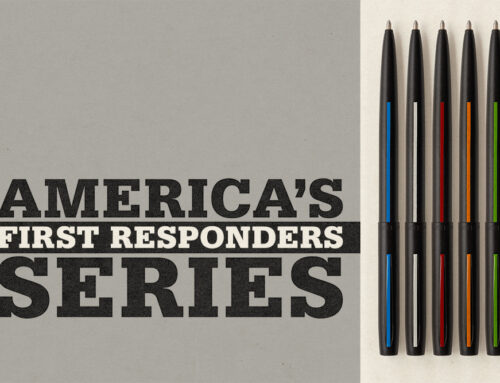 "FISHER SPACE PEN HONORS AMERICA'S FIRST RESPONDERS WITH NEW ""THIN LINE"" SERIES"