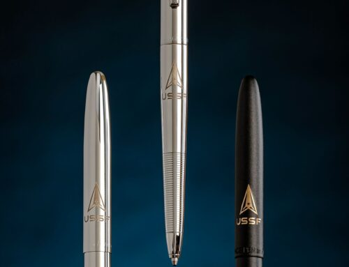 FISHER SPACE PEN LAUNCHES U.S. SPACE FORCE SERIES